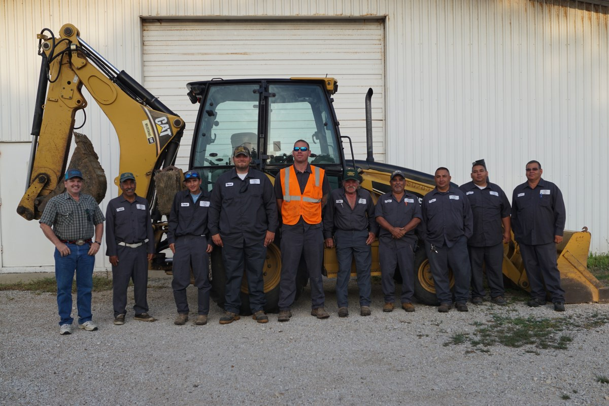 City of Palacios Public Works Employees