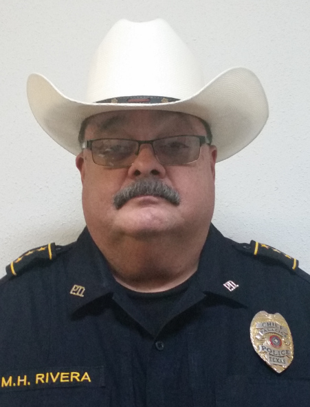 Photo of Chief Miles, Palacios Police Department